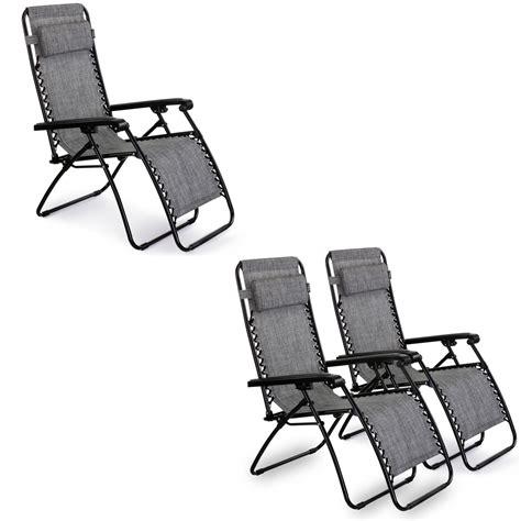 vonhaus textoline zero gravity chair garden pool reclining