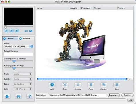 Divx To Dvd Converter License Original For Mac imacsoft free dvd ripper for mac freeware version 2 0 1