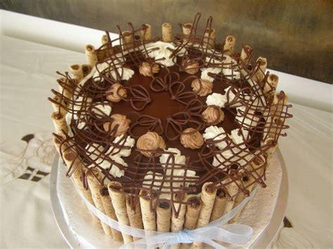 decorare torta con cioccolato idee originali per le decorazioni di torte foto pourfemme