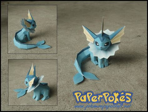 mini vaporeon papercraft by jyxxie on deviantart