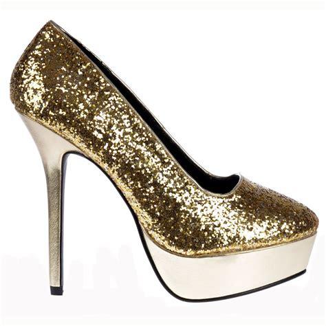 sparkley high heels onlineshoe sparkly glitter platform high heels