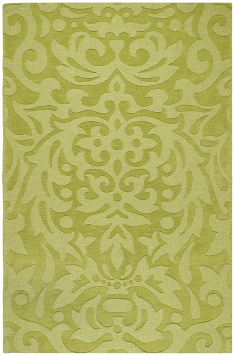 Surya Area Rugs Mystique Rug M317 Lime Green Lime Green Area Rugs