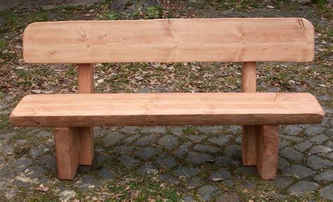 Esszimmer Le Holz Selber Bauen by Holzbank Eiche Sitzbank Holz Draussen Aus Fur Drausen