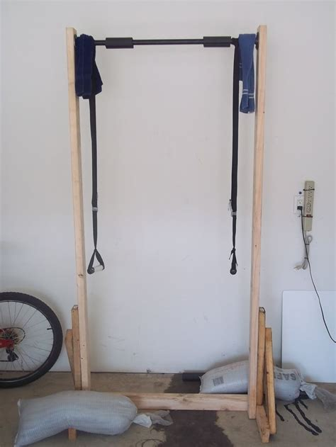 bedroom pull up bar beyond the 5k make free standing pull up bar from 2x4 s