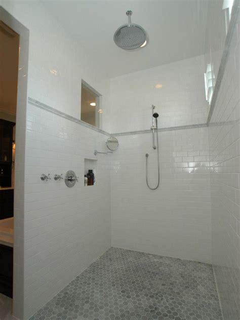 White Marble Subway Tile Bathroom by 1000 Ideas About Tile Design Pictures On Tile