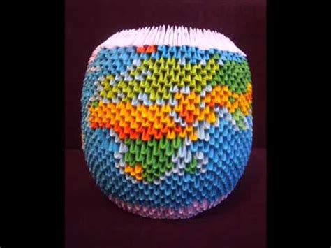origami earth globe wmv
