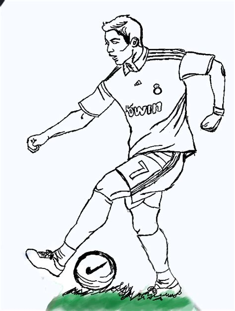 coloring pages ronaldo free ronaldo cr7 coloring pages