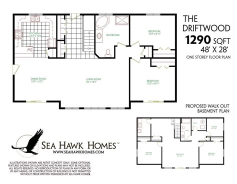 house plans with finished walkout basements luxury decor