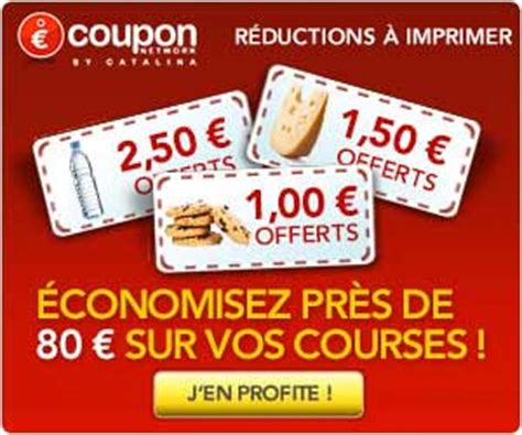 coupon network coupons de r 233 duction alimentaires 224
