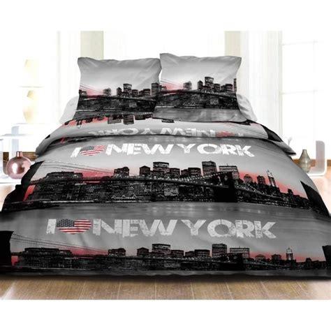 Housse De Couette New York 2 Personnes by Housse De Couette 220x240 2 Taies Pur Coton 57 Fils