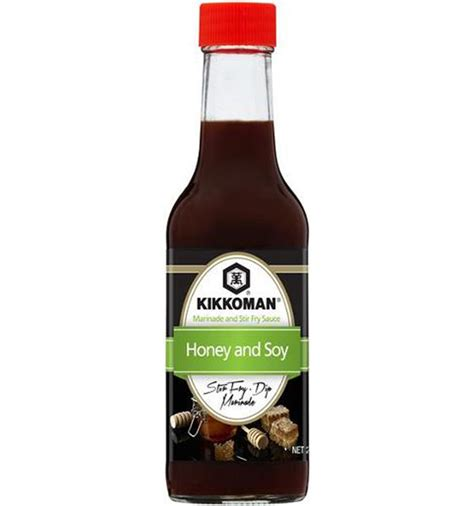 kikkoman marinades honey and soy 250ml tasteful delights
