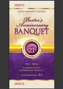 banquet ticket template clergy anniversary banquet ticket template by godserv on