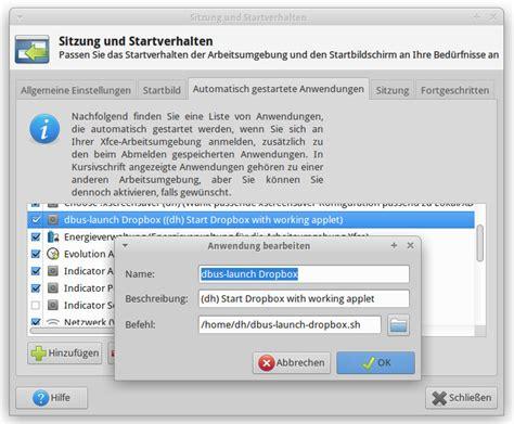 dropbox xfce dirk hagedorn 187 xfce dropbox icon funktioniert nicht