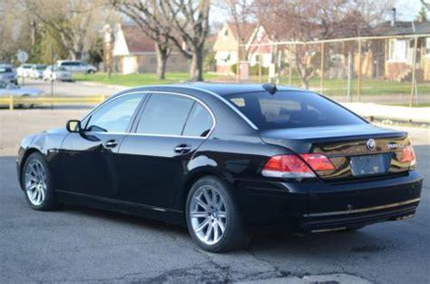 2006 bmw 760li price sell used 2006 bmw 760li sedan 4 door 6 0 v12 not a