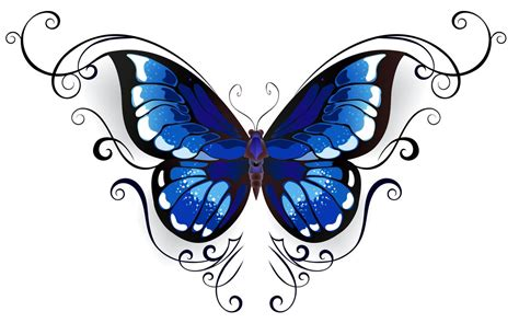 blue butterfly tattoo designs butterfly tattoos on foot