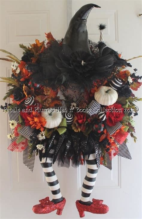 halloween wreath witch wreath ba pinterest