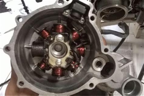 Spul V Xion indikator peringatan di motor vixion menyala bagian terakhir