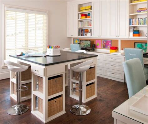 craft room tables beautiful craft room interior design ideas that make work easier