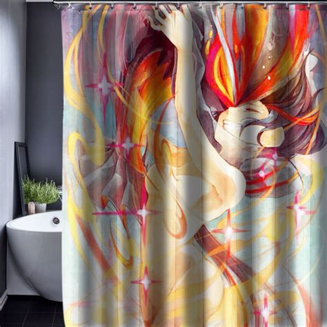 anime shower curtain popular anime shower curtain buy cheap anime shower