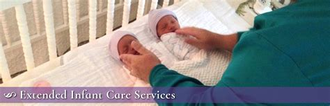 extended infant care services baby coming home