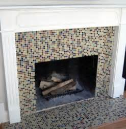small square glass tile fireplace things for my house
