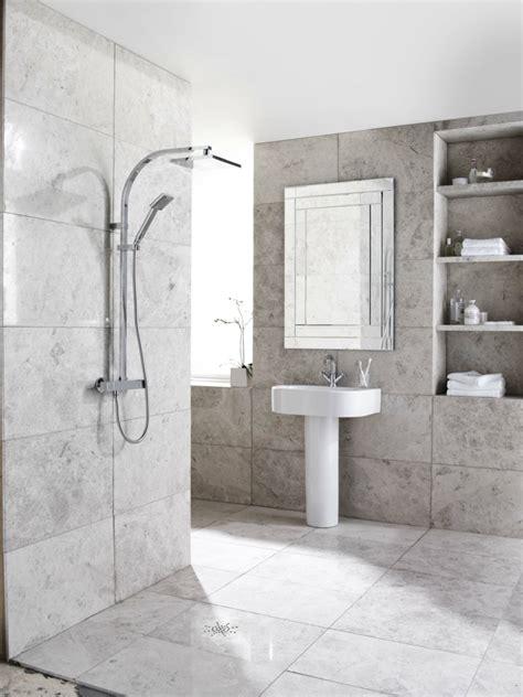 Badezimmer Nicht Komplett Fliesen by Travertin Fliesen Im Badezimmer Gestaltungsm 246 Glichkeiten