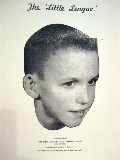boy haircut retro retro little boys haircut 1958 vintage barbershop the