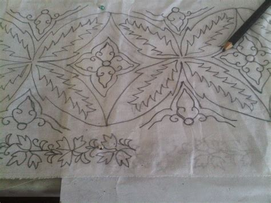 contoh gambar batik terkini