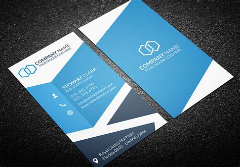 3 stylish real estate business card templates real estate business card template business card