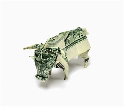 origami ox one dollar ox by orudorumagi11 on deviantart