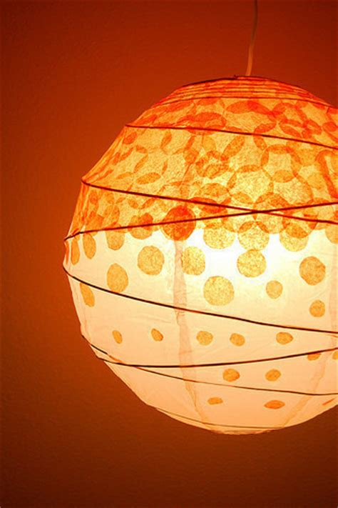 How To Make Tissue Paper Lanterns - diy dotted tissue paper lantern 183 how to make a hanging