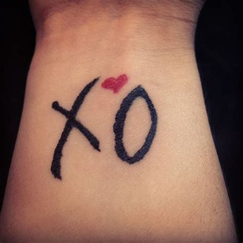 xo tattoo meaning 36 best xo images on xo design