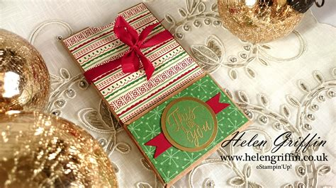 Money Gift Cards Uk - 9th day of christmas christmas gift card money treat pouch with card tutorial