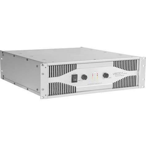 Power Lifier American american audio v6001 professional power lifier v6001 b h