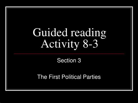 chapter 19 section 3 popular culture guided reading activity 19 1 how media impact government