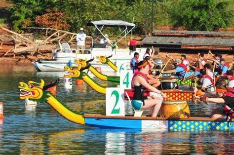 dragon boat festival gainesville asian flavors fill shores of lake lanier at dragon boat