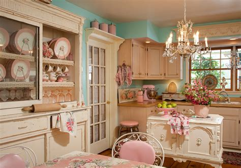 Nostalgic Kitchen Decor by Pin Up Decor Blast From The Past With 13 Pretty Spaces