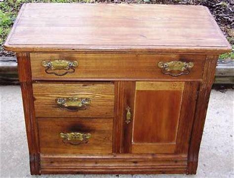Knapp Joint Dresser by Antique Oak Washstand Sm Dresser Knapp Joints 1800s
