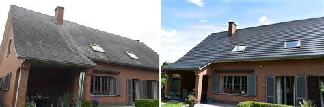 leien schilderen leien dak renoveren ga voor een overzetdak