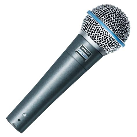 Mic Sure Beta58a shure beta 58a dynamic microphone at gear4music