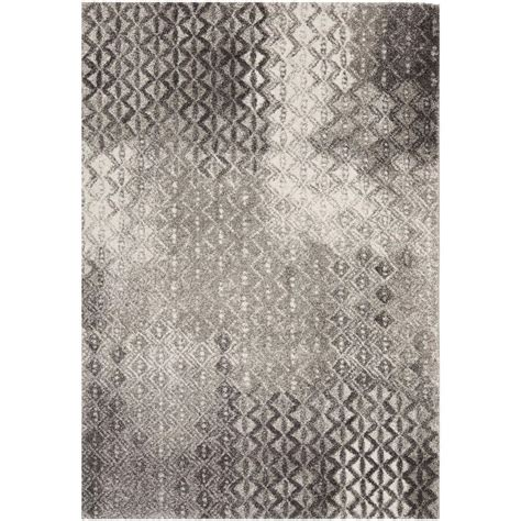 safavieh porcello rug safavieh porcello light grey 4 ft x 5 ft 7 in area rug prl3525a 4 the home depot