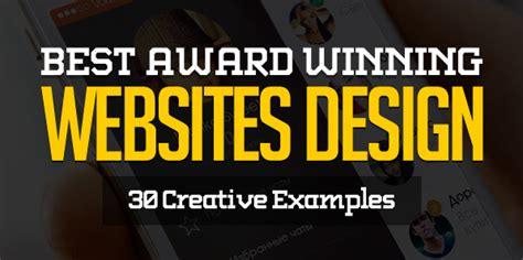best websites awards best award winning websites design 30 exles web