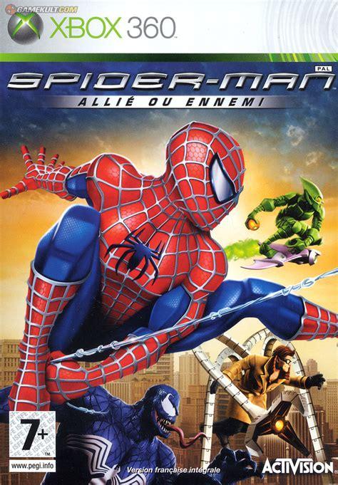 spider alli 233 ou ennemi pc ds wii ps3 psp xbox