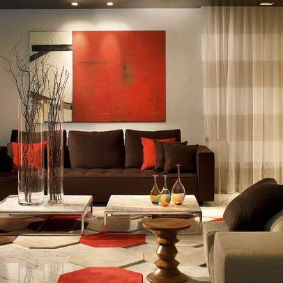 red and brown living room brown red cream living room dream home pinterest