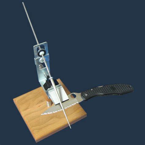 kme precision knife sharpening system tapered diamond rod