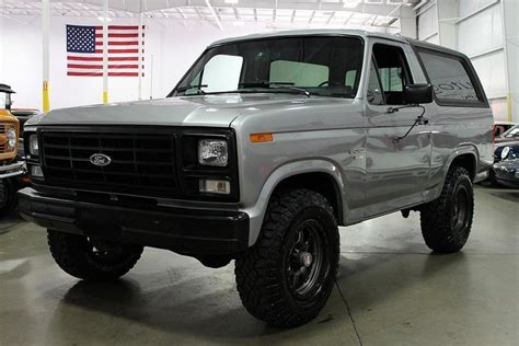 how does cars work 1986 ford bronco interior lighting silver 1986 ford bronco for sale mcg marketplace