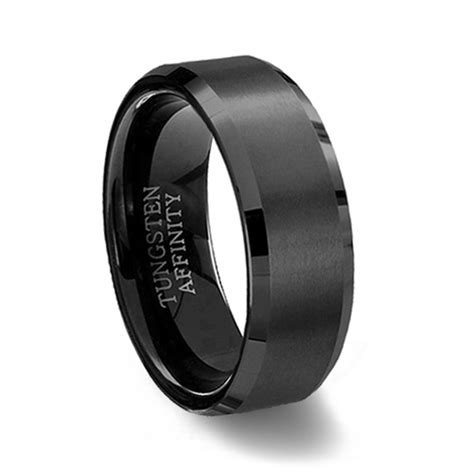the of black tungsten rings tungsten ring
