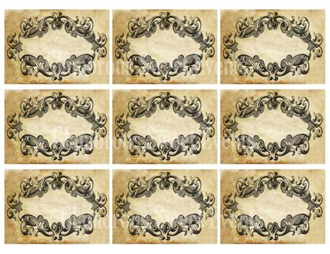 Blanko Etiketten by Instant Download Vintage Blank Labels Vintage Tags