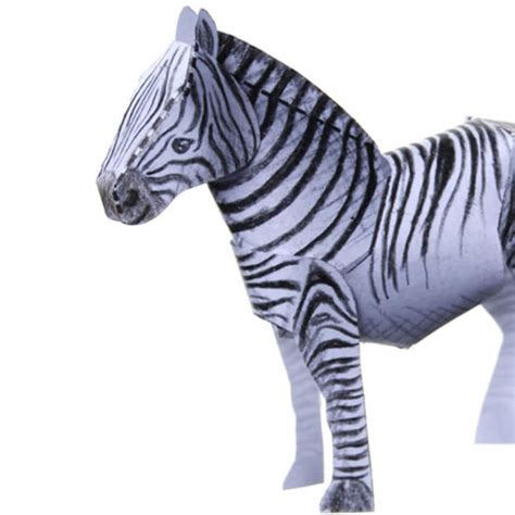 zebra template zebra papercraft template free printable papercraft