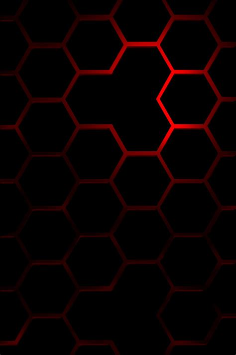 iphone wallpaper red abstract red hexagon simply beautiful iphone wallpapers
